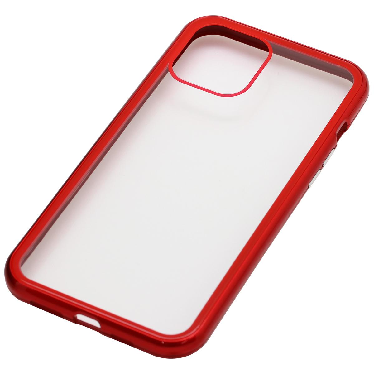 iPhone 12 Pro Max用マグネットPCバンパーケース